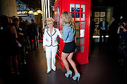 CHLOE MADELEY; BARBARA WINDSOR, The Galleries of Modern London launch party at the Museum of London on May 27, 2010 in London. <br /> -DO NOT ARCHIVE-© Copyright Photograph by Dafydd Jones. 248 Clapham Rd. London SW9 0PZ. Tel 0207 820 0771. www.dafjones.com.