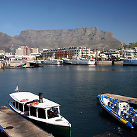 Africa, South Africa, Cape Town. Victoria & Alfred Waterfront