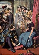 Cinderella or The Little Glass Slipper by Edward Dalziel and George Dalziel Published in London and New York by George Routledge and Sons between 1865 - 1889