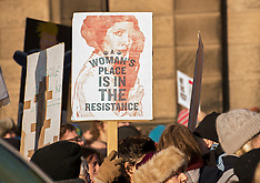 Trump Protest | Edinburgh | 21 January 2017
