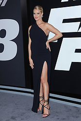 April 8, 2017 - New York, NY, USA - April 8, 2017  New York City..Rosie Huntington-Whiteley attending 'The Fate Of The Furious' New York premiere at Radio City Music Hall on April 8, 2017 in New York City. (Credit Image: © Kristin Callahan/Ace Pictures via ZUMA Press)