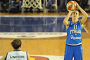 DESCRIZIONE : Parma All Star Game 2012 Donne Torneo Ocme Lega A1 Femminile 2011-12 FIP <br /> GIOCATORE : Raffaella Masciadri<br /> CATEGORIA : tiro<br /> SQUADRA : Nazionale Italia Donne Ocme All Stars<br /> EVENTO : All Star Game FIP Lega A1 Femminile 2011-2012<br /> GARA : Ocme All Stars Italia<br /> DATA : 14/02/2012<br /> SPORT : Pallacanestro<br /> AUTORE : Agenzia Ciamillo-Castoria/C.De Massis<br /> GALLERIA : Lega Basket Femminile 2011-2012<br /> FOTONOTIZIA : Parma All Star Game 2012 Donne Torneo Ocme Lega A1 Femminile 2011-12 FIP <br /> PREDEFINITA :