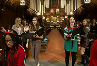 St Paul's School Christmas Feast and Choir practice.  ©2019 Karen Bobotas Photographer
