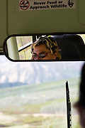 Never feed or approach wildlife - bus driver, Denali National Park, Alaska..
