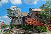 Photo of Mushroom House, Hyde Park, Cincinnati, Ohio.
