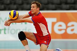 20170525 NED: 2018 FIVB Volleyball World Championship qualification, Koog aan de Zaan<br />Matej Kubs (5) of Slovakia <br />©2017-FotoHoogendoorn.nl / Pim Waslander