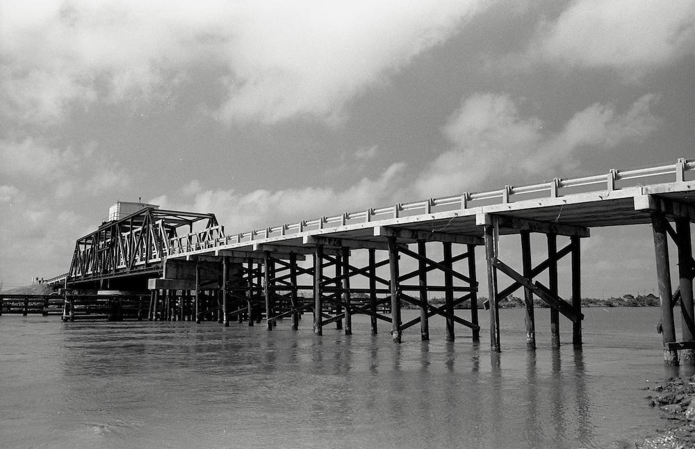 Bridge at Port Fourchon, LA, May 2003
