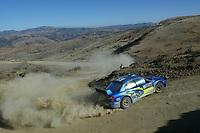 AUTO - WRC 2005 - MEXICO RALLY - LEON 13/03/2005 - PHOTO : FRANCOIS BAUDIN / DIGITALSPORT<br /> N) 5 - PETTER SOLBERG (NOR) - PHIL MILLS / SUBARU IMPREZA WRC - ACTION
