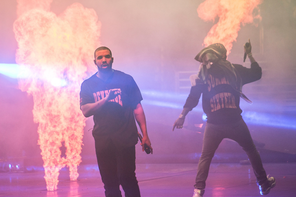 Drake and Future bring the Summer Sixteen Tour to the United Center in Chicago on October 5, 2016.