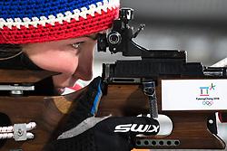 February 12, 2018 - Pyeongchang, SOUTH KOREA - 180212  Marte Olsbu of Norway prior the Women's Biathlon 10km Pursuit during day three of the 2018 Winter Olympics on February 12, 2018 in Pyeongchang..Photo: Jon Olav Nesvold / BILDBYRÃ…N / kod JE / 160156 (Credit Image: © Jon Olav Nesvold/Bildbyran via ZUMA Press)