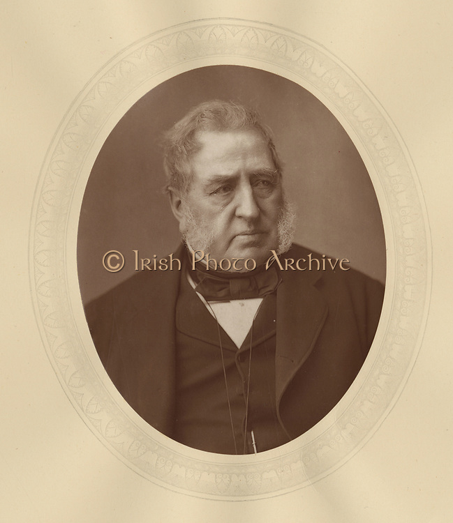 'Richard Malins (1805-1882) c1880,  English lawyer and Conservative politician.  Member of Parliament for Wallingford 1852-1865.'