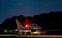 Eurofighter Typhoon at RAF Coningsby photo by Chris Wynne