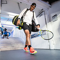 Rafael Nadal of Spain ahead of the men's final on day fourteen of the 2017 Australian Open at Melbourne Park on January 29, 2017 in Melbourne, Australia.<br /> (Ben Solomon/Tennis Australia)