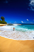 Fishing Off The Coast Of Kauai