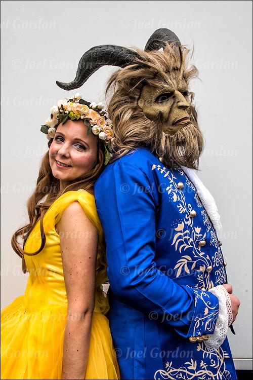 Beauty and Beast Cosplay Pop Culture | Joel Gordon Photography