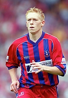 Mikael Forssell - Palace. Crystal Palace v Queens Park Rangers. Football League Division One, 20/08/2000. Credit: Colorsport / Matthew Impey.
