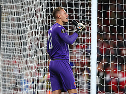 September 20, 2018 - London, England, United Kingdom - Arsenal's Bernd Leno.during UAFA Europa League Group E between Arsenal and FC Vorskla Poltava at Emirates stadium , London, England on 20 Sept 2018. (Credit Image: © Action Foto Sport/NurPhoto/ZUMA Press)
