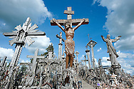 Hill of Crosses (Jurgaiciai Mound), near Siauliai, Lithuania. © Rudolf Abraham.