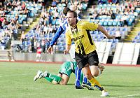 Fotball<br /> 23. August 2008<br /> Adecco ligaen<br /> Hødd  - start 0-2<br /> <br /> Vebjørn skeide - hødd keeper<br /> Kyle veris - hødd<br /> Bernt hulsker - start<br /> <br /> Foto: Richard Brevik , Digitalsport
