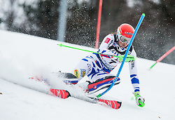 """Petra Vlhova (SVK) competes during 1st Run of FIS Alpine Ski World Cup 2017/18 Ladies' Slalom race named """"Snow Queen Trophy 2018"""", on January 3, 2018 in Course Crveni Spust at Sljeme hill, Zagreb, Croatia. Photo by Vid Ponikvar / Sportida"""
