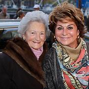 NLD/Amsterdam/20111026- Jubileumconceert Christina Deutekom, Christine Kroonenberg en moeder