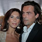NLD/Amsterdam/20110515 - Coiffure awards 2011, Susan Blokhuis en partner Michel Arendsen