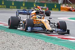 May 11, 2019 - Barcelona, Catalonia, Spain - McLaren Renault driver Lando Norris (4) of Great Britain during F1 Grand Prix free practice celebrated at Circuit of Barcelona 11th May 2019 in Barcelona, Spain. (Credit Image: © Mikel Trigueros/NurPhoto via ZUMA Press)