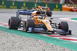 May 11, 2019 - Barcelona, Catalonia, Spain - McLaren Renault driver Lando Norris (4) of Great Britain during F1 Grand Prix free practice celebrated at Circuit of Barcelona 11th May 2019 in Barcelona, Spain. (Credit Image: © Mikel Trigueros/NurPhoto via ZUMA Press)