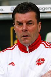 12.03.2010, Volkswagen Arena, Wolfsburg, GER, 1.FBL, VfL Wolfsburg vs 1.FC Nuernberg, im Bild Dieter Hecking (Trainer Nuernberg) .EXPA Pictures © 2011, PhotoCredit: EXPA/ nph/  Schrader       ****** out of GER / SWE / CRO  / BEL ******