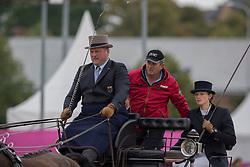 Von Stein Georg, GER, Desperado, Fax 53, Mokka, Playboy, Zindgraaf<br /> FEI European Driving Championships - Goteborg 2017 <br /> © Hippo Foto - Stefan Lafrenz