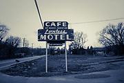 Cafe Loveless sign in Nashville, Tennessee  (1988)