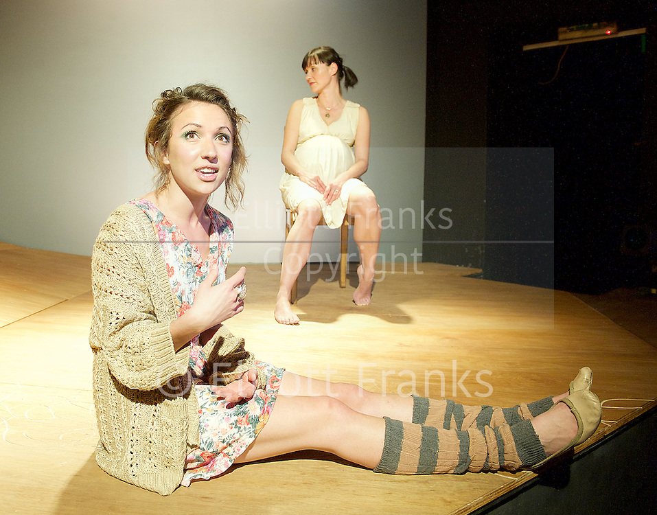 Esther Smith who plays Delphi Diggory in Harry Potter & The Cursed Child pictured in 2011 in the stage play <br /> Many Moons<br /> by Alice Birch at <br /> Theatre 503, London, Great Britain <br /> 20th may 2011<br /> <br /> <br /> Esther Smith (as Juniper)<br /> <br /> Photograph by Elliott Franks<br /> <br /> 2016©Elliott Franks<br /> <br /> <br /> Image licensed to Elliott Franks