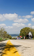 Israel, a group of people hiking outdoors