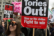 Demonstration outside Downing Street as protesters gather to protest against David Cameron's links to offshore finances on April 9th, 2016 in London, United Kingdom. Thousands of protesters gathered calling for the Prime Minister to resign and to protest over his recently revealed tax dealings in the Panama Papers.