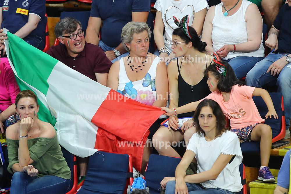 FAMIGLIA ORTOLANI<br /> ITALIA - KOREA<br /> PALLAVOLO VNL VOLLEY PERUGIA <br /> PERUGIA 12-06-2019<br /> FOTO GALBIATI - RUBIN