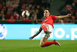 February 6, 2019 - Lisbon, Portugal - Benfica's Spanish defender Alejandro Grimaldo in action during the Portugal Cup Semifinal first leg football match SL Benfica vs Sporting CP at Luz stadium in Lisbon, on February 6, 2019. (Credit Image: © Pedro Fiuza/ZUMA Wire)