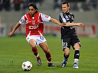 Fotball<br /> Frankrike<br /> Foto: DPPI/Digitalsport<br /> NORWAY ONLY<br /> <br /> FOOTBALL - FRENCH CHAMPIONSHIP 2008/2009 - L2 - STADE DE REIMS v VANNES OC - 03/04/2009 - SALIM ARRACHE (REI)