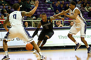 FORT WORTH, TX - JANUARY 7: Marcus Foster #2 of the Kansas State Wildcats drives to the basket against the TCU Horned Frogs on January 7, 2014 at Daniel-Meyer Coliseum in Fort Worth, Texas.  (Photo by Cooper Neill/Getty Images) *** Local Caption *** Marcus Foster