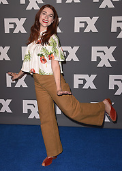 BEVERLY HILLS, CA - AUGUST 9:   Aya Cash at the FX 2017 Television Critics Association Summer Tour Star Walk at The Beverly Hilton Hotel on Tuesday, August 9, 2017 in Beverly Hills, CA. (Photo by Scott Kirkland/Fox/PictureGroup) *** Please Use Credit from Credit Field ***