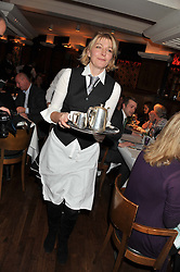 JEMMA REDGRAVE at One Night Only at The Ivy held at The Ivy, 1-5 West Street, London on 2nd December 2012.