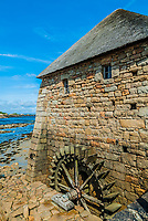 Brehat island in brittany cotes d armor France