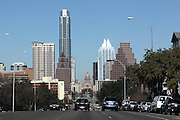 Austin City View from South Congress, South Austin