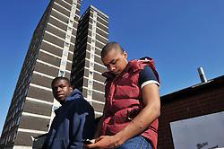 Unemployed youths Leeds Yorkshire MR