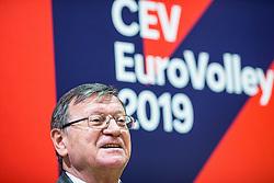 Aleksandar Boricic CEV during press conference Sports marketing and sponsorship conference Sporto 2018, on November 22, 2017 in Hotel Slovenija, Congress centre, Portoroz / Portorose, Slovenia. Photo by Vid Ponikvar / Sportida