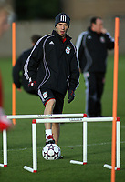 Photo: Paul Thomas.<br /> Liverpool Training session. UEFA Champions League. 21/11/2006.<br /> <br /> Luis Garcia.