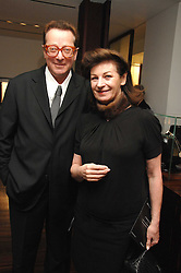 LORD & LADY SAATCHI at a Valentine's Party in aid of Chickenshed held at De Beers, 50 Old Bond Street, London W1 on 6th Fbruary 2008.<br /><br />NON EXCLUSIVE - WORLD RIGHTS