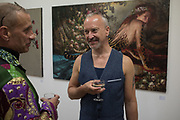 BARRY GODDARD; STUART KING, Focus on Painting, Medium Oil, David Royle and Gianluca pisano,  Bermondsey Project Space, London. 30 May 2018.