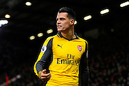 Granit Xhaka (29) of Arsenal during the Premier League match between Bournemouth and Arsenal at the Vitality Stadium, Bournemouth, England on 3 January 2017. Photo by Graham Hunt.