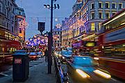 Christmas Lights in Regent Street
