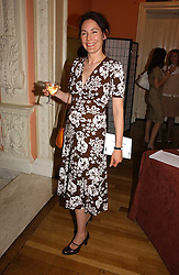 The MARCHIONESS OF NORMANBY at a party to celebrate the publication of 'A Much Married Man' by Nicholas Coleridge held at the ESU, Dartmouth House,  37 Charles Street, London W1 on 4th May 2006.<br />